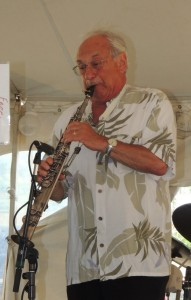 Noel Kaletsky on soprano sax