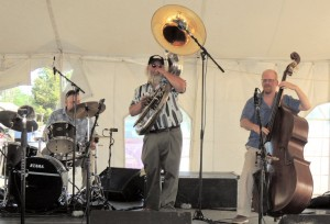 drum, sousaphone, string bass