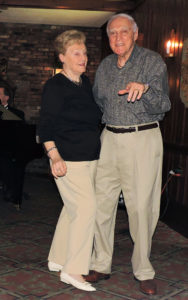 couple in their early 90's dancing, and they're good!
