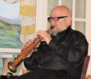Ted Casher on soprano sax