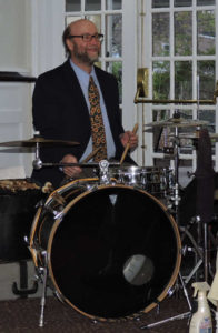 Rich with both sticks on snare drum
