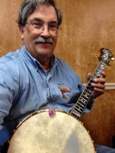 Steve with Eddy Davis Banjo
