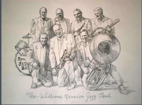 Jane Collins' Portrait of band