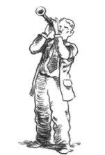 Joe Mathieu's clarinetist