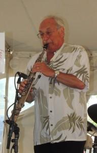 Noel Kaletsky on soprano sax