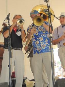 Fred cornet, Ben trombone