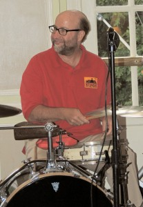 Rich Malcolm on drums