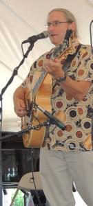 Pierce Campbell on guitar
