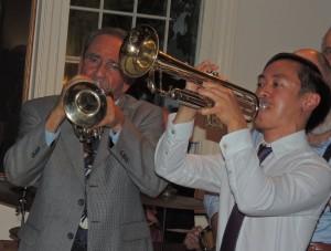 Fred Vigorito cornet and Gordon Au trumpet