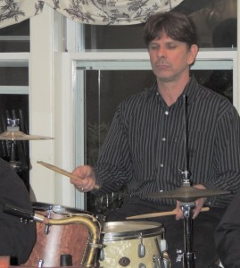 Jeff Guthery on drums