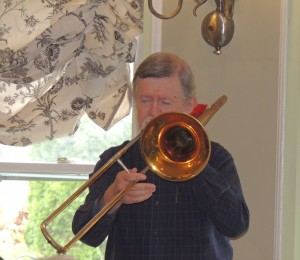 Stan Vincent on Trombone