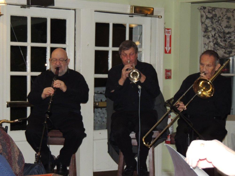 clarinet, cornet, trombone