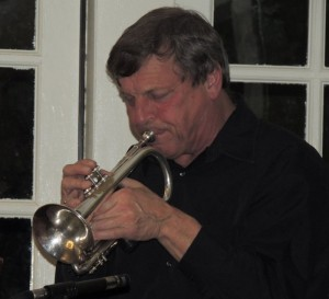 Randy Reinhart on cornet