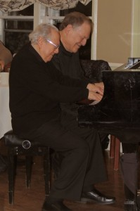 Bob and Eli on baby grand