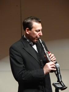 Dan on clarinet