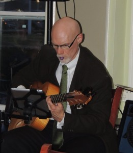 Bill Doyle on guitar