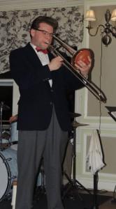 Dan Gabel on trombone