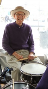 Tom Hayne on drum