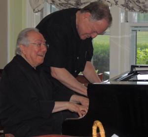 Eli joins Bob at piano