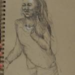 Gabby sketch by Carolyn