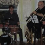 drum and clarinet
