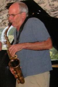 Billy on alto sax