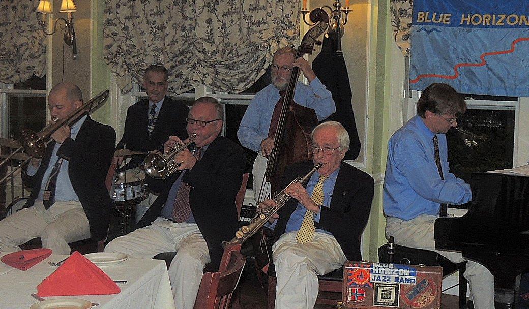 6-pc Trad Jazz Band, no banjo