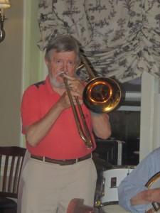 Stan Vincent on trombone