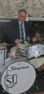 Steve Taddeo on Slingerland drums