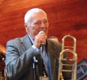Saxophonist Herb Roselle on speaker