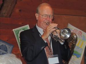 Lew Green on cornet