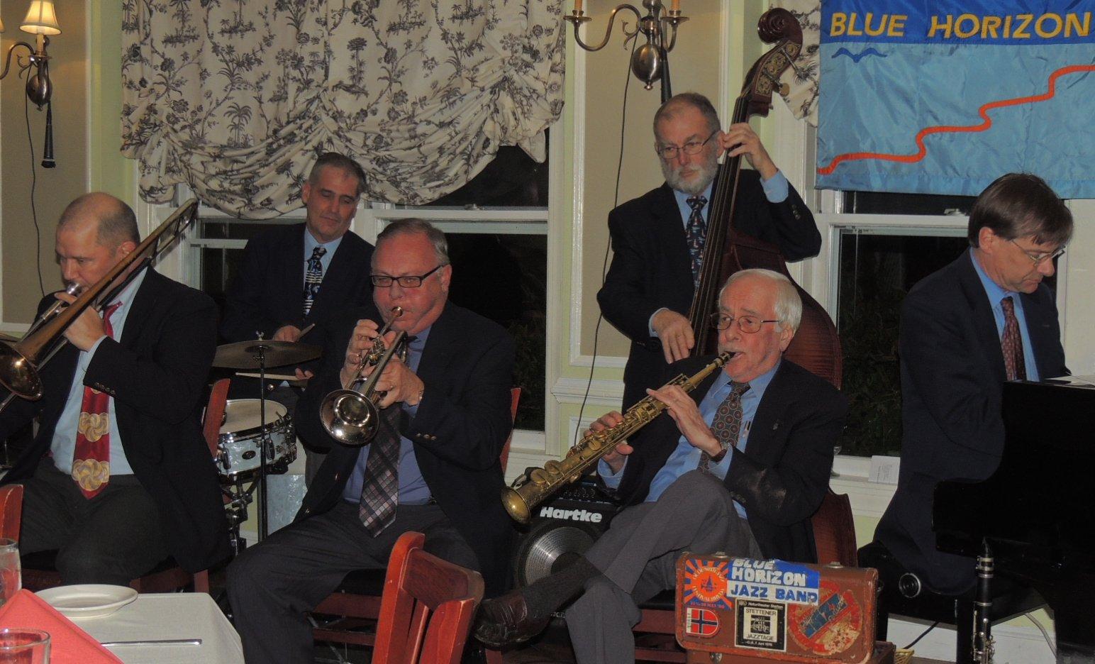 6-pc Traditional Jazz Band, no banjo