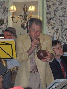 Jeff on open bell trumpet