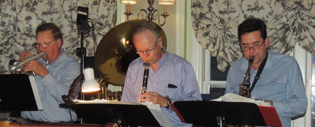 cornet, clarinet, alto sax