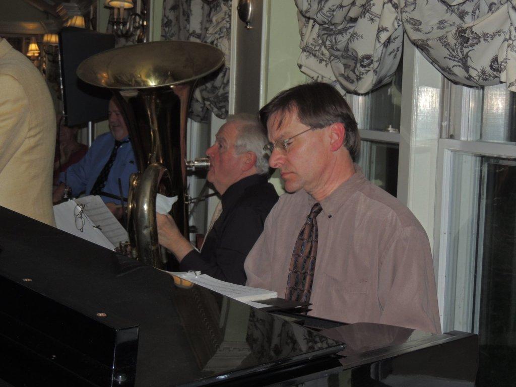 tuba and piano