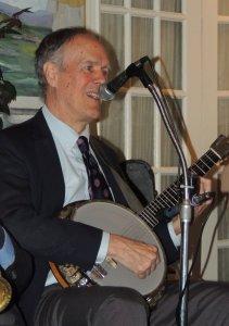 Smiling Dave on banjo