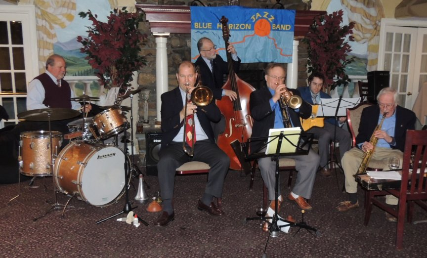 Blue Horizon Jazz Band with Jack Soref and Mike Peipman