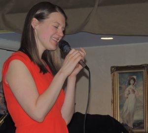 Rebecca sings