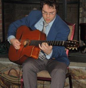 Jack on guitar