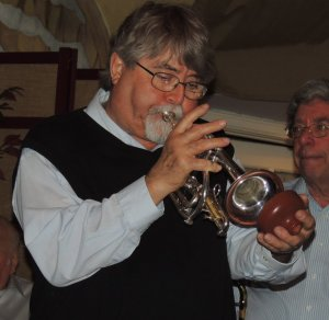 Neil on muted cornet