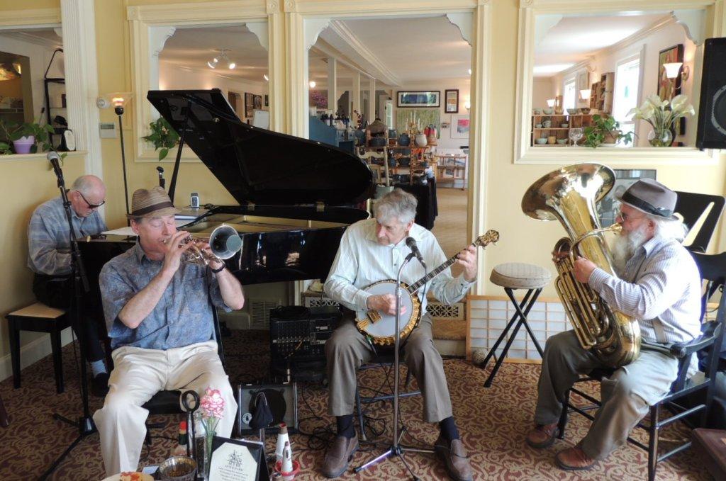 Cornet, Banjo, Piano, Tuba