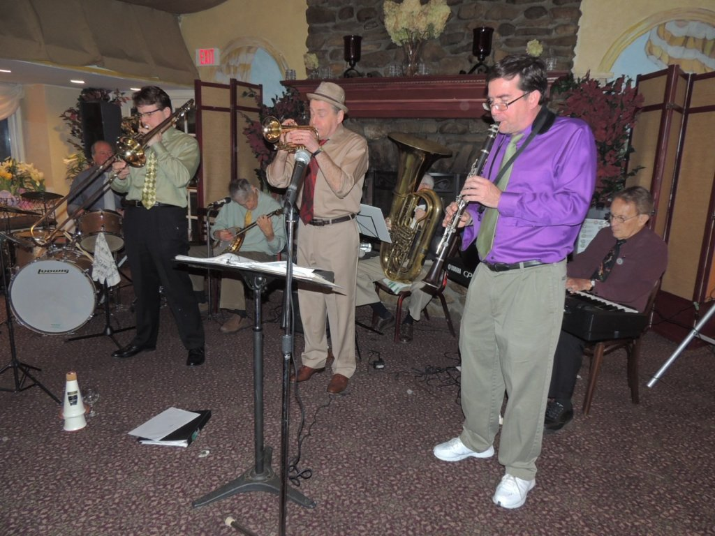 7pc Trad Jazz Band