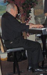Bob plays keyboard