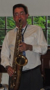 John Clark on tenor sax
