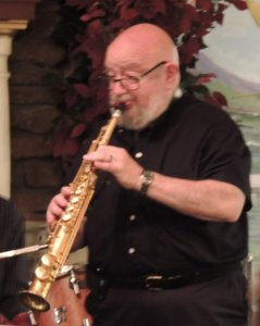 Ted on soprano sax