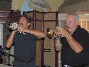 two cornets