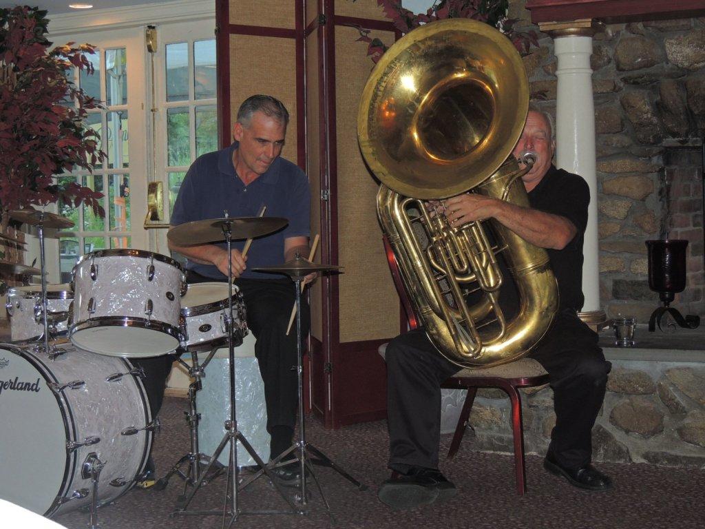 drum and tuba
