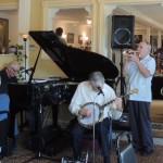 piano, banjo, cornet