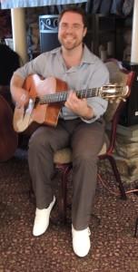 Soref with Django style guitar