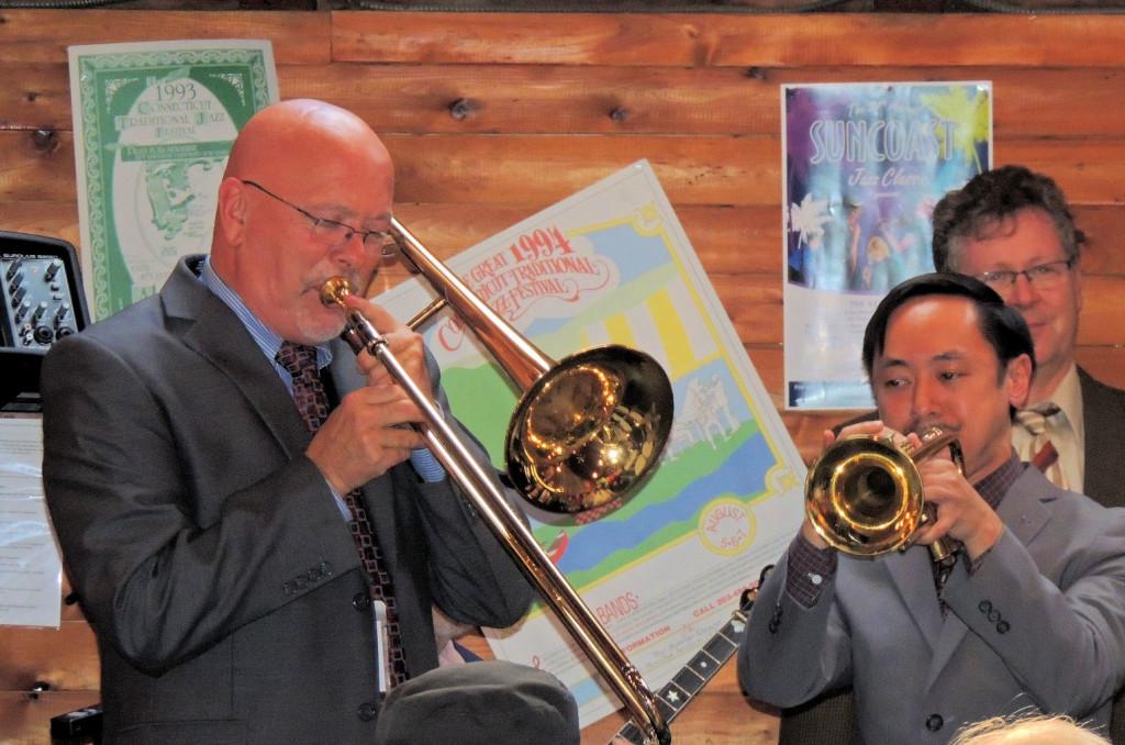 Tom trombone, Gordon trumpet